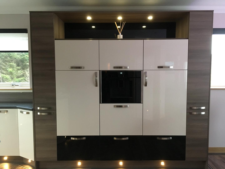 Kitchen - Fridge/Coffee Machine & Freezer