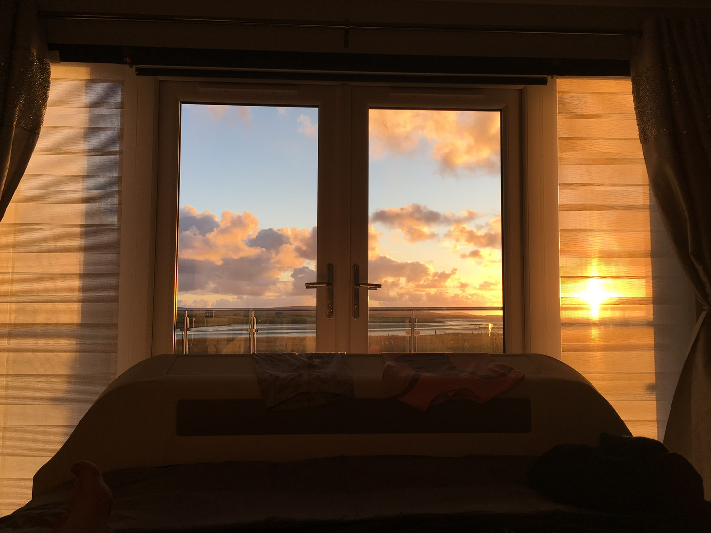 Master Bedroom Sunset View