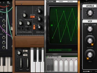 Синтезаторы Moog для iOS стали бесплатными.