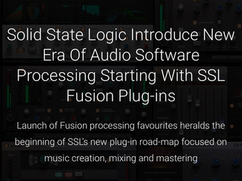 Solid State Logic SSL Fusion – набор плагинов для обработки звука.