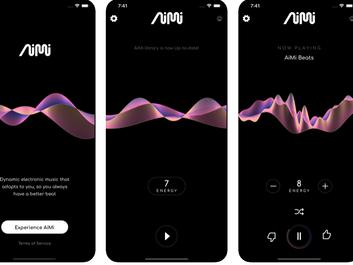 После обновления в приложении музыкального ИИ-стартапа Aimi появился премиум-уровень.