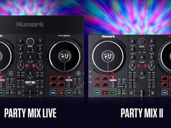 У Numark пара новых недорогих DJ-контроллеров.