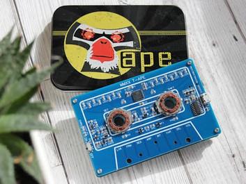 PhonicBloom Mmxx T-Ape: мини-синтезатор и секвенсор в дизайне компакт-кассеты