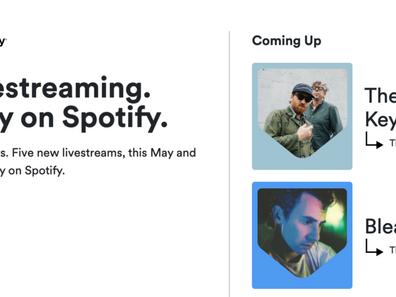Spotify заходят в лайвстриминг через партнерство с Driift.