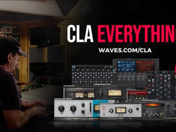 Waves CLA Everything – комплект плагинов Waves, разработанных с Крисом Лордом-Элджи.