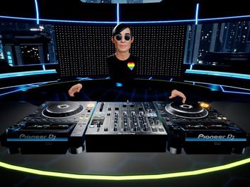 Tribe XR позволяет отточить свои навыки диджея в VR на Pioneer DJ CDJ-3000.