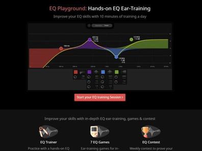 Сервис SoundGym представил EQ Playground — тренировочное поле для изучения эквализации.