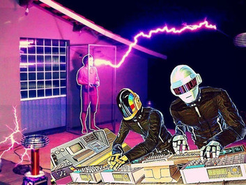 Бразильский изобретатель сыграл Daft Punk «Around the World» на катушках Тесла.