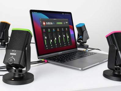 Rode Connect — бесплатная программа для записи подкастов через микрофоны компании.