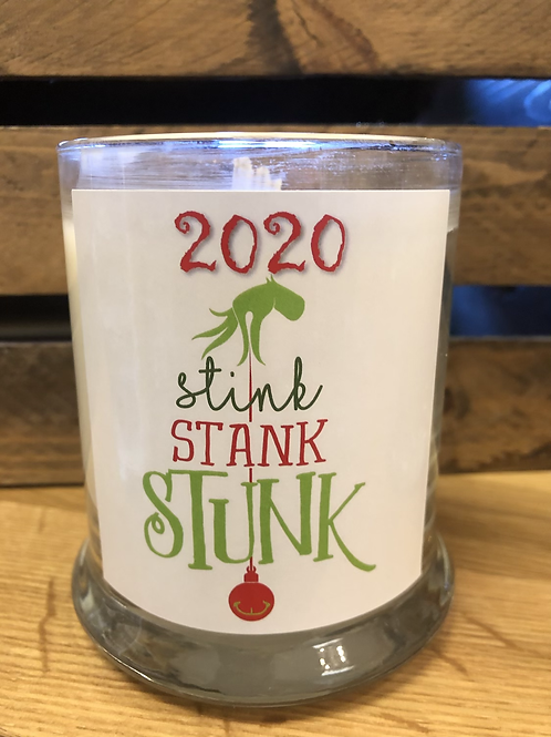 Stink Stank Stunk Holiday Candle