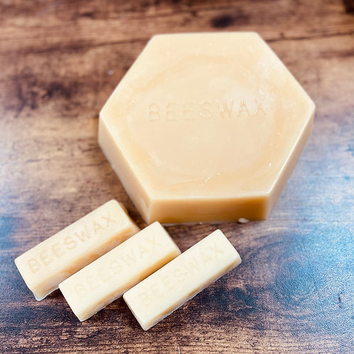 100% Pure Natural Yellow Beeswax , Long Burning, Honey Scent, Cabin, Farmhouse D