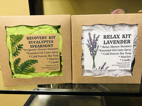 Relax & Recovery Spa Kit