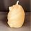 "Thumbnail: BEAR Pillar  VOTIVE 2.5"" Tall, 100% Pure Natural Yellow Beeswax , Long Burning,"