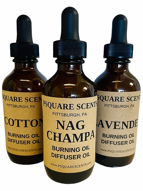 Scented Burning Oil F to O, Warmer Oil, Home Fragrance Diffuser, Air Freshener