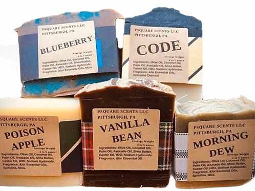 Handmade Soap - Cold Process Soap - Shae Butter Soap