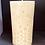 """Thumbnail: SNOWFLAKE Pillar 5.75"""" Tall, 100% Pure Natural Yellow Beeswax , Long Burning, Ho"""
