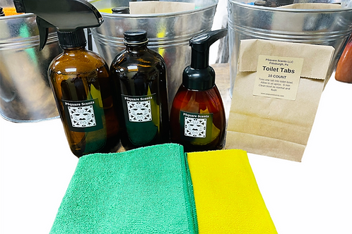 HOME CLEANING STARTER KIT - NO WASTE