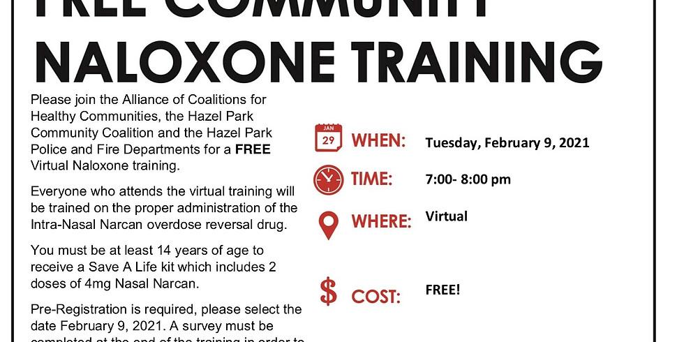 Narcan/Naloxone Training for Hazel Park