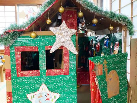 お菓子のお家でクリスマスパーティー♪