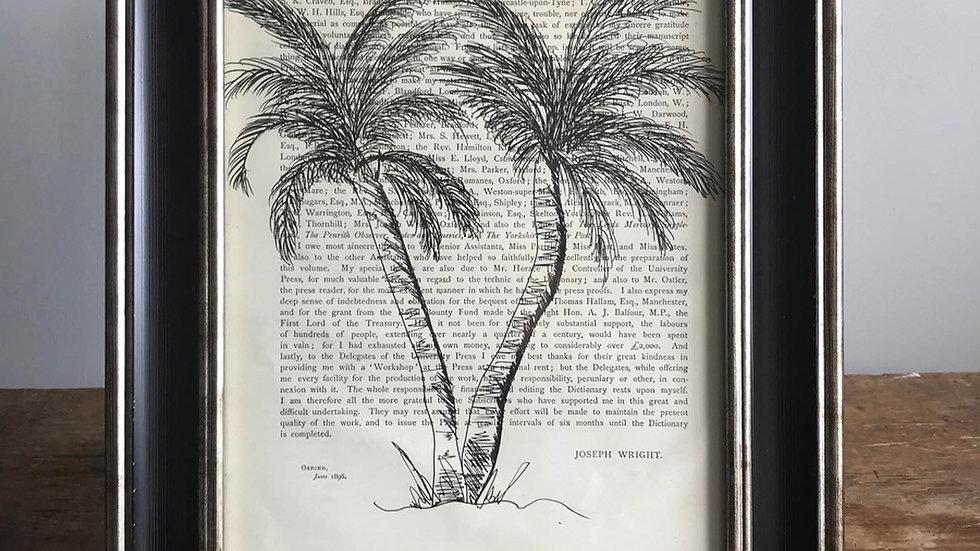 """Palm Springs"" Original Hand Drawn"