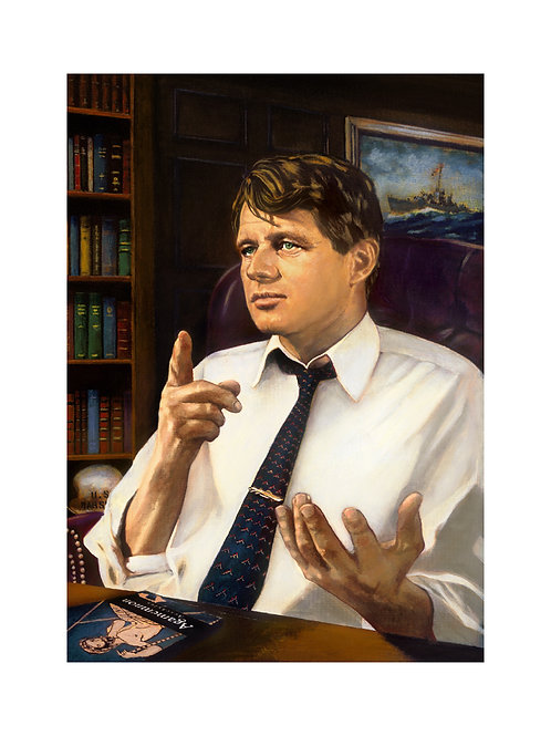 "Robert ""Bobby"" Kennedy Print"