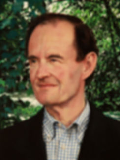 TLNPG indutee David Boies standing outside in his garden