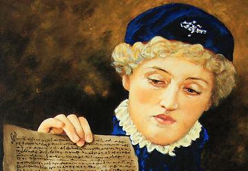 Thumbnail of Portia painting,