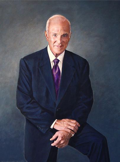 Portrait of Trial lawyer Gilbert T. Adams