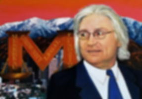 TLNPG Inductee and celebrity lawyer Thomas Mesereau standing infornt of Los Angeles Mountain Range