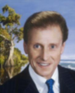 TLNPG inducee Gregory Barnhart standng infront of