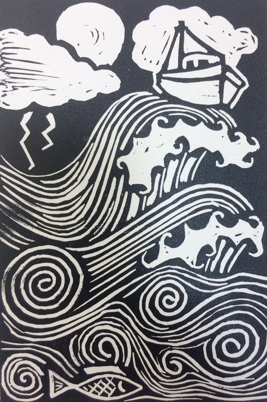 nautical lino4