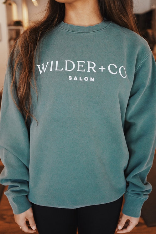 Alpine Green Crewneck Sweatshirt