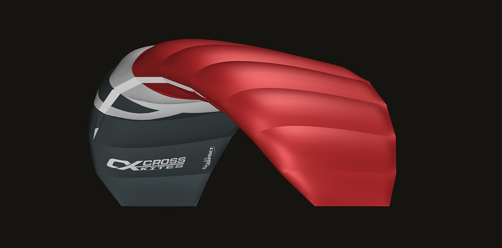 CrossKites Boarder 1.5 Red Ready to Fly