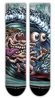 Merge4 Jimbo Surf Freak Classic Crew Socks