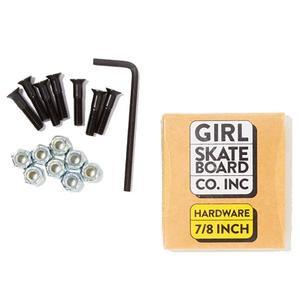 Girl Skateboards 7/8'' Skateboard Bolts