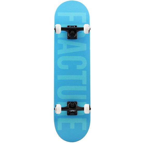 """Fracture Skateboards Fade Blue Complete Skateboard 7.75"""""""