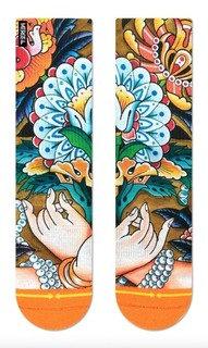 Merge4 Richard Kirby Flower Love Womens Socks