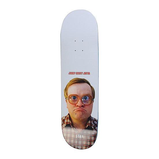 "Sour Skateboards Josef Scott Jatta Bubbles deck 8"""