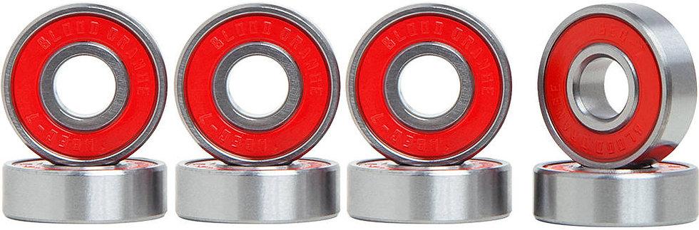 Blood Orange Abec 7 Bearings 8-pack