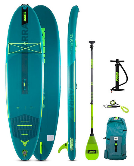 JOBE YARRA 10.6 INFLATABLE PADDLE BOARD PACKAGE TEAL