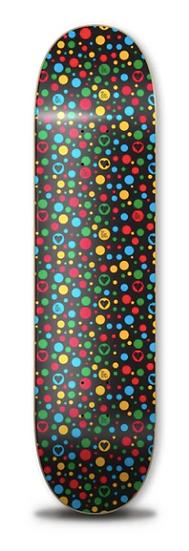 Heart Supply Polka Hearts 8.0 Deck - Black