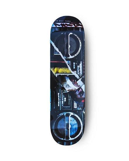 Boombox Skateboard Deck 8.0    Zoo York
