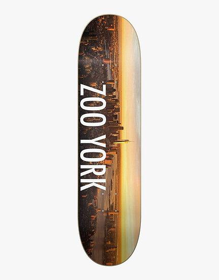 Zoo York Skateboard Deck   8.125   Sunrise