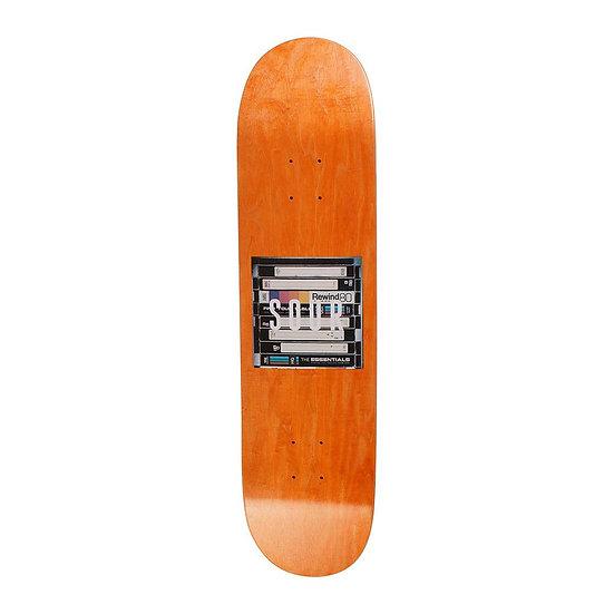 "Sour Skateboards Box Logo VHS Skateboard Deck - 8"""