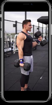 Biceps Iphone X