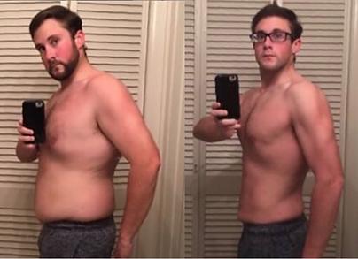 Summer Body Male Client Transformaton