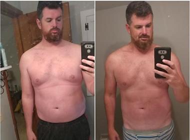 Dad Bod Fat Loss Transformation