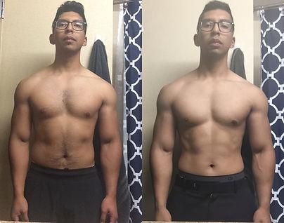 Fat Loss Muscle Gain Transformation