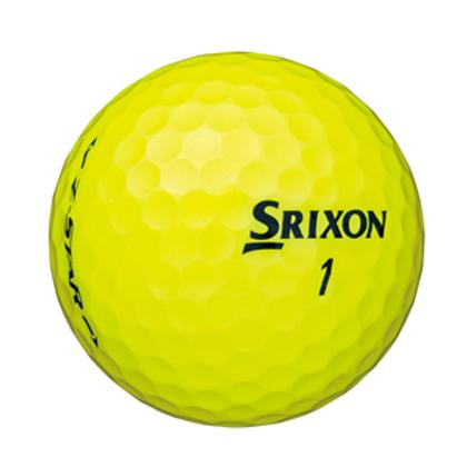 Balles Srixon Z star jaune