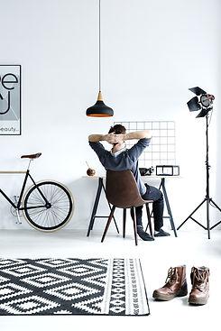 Man in Modern Studio